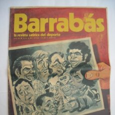 Coleccionismo deportivo: BARRABÁS Nº NÚMERO 66 / 1 DE ENERO DE 1974 LA REVISTA SATÍRICA DEL DEPORTE. Lote 174607182