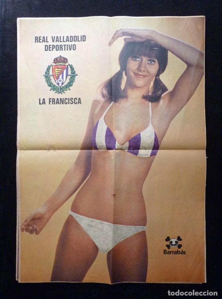 Coleccionismo deportivo: LOTE DE 5 REVISTAS BARRABÁS. LA REVISTA SATÍRICA DEL DEPORTE. AÑO 1973, Nº 26-27-28-29-32 + POSTERS - Foto 4 - 178041664