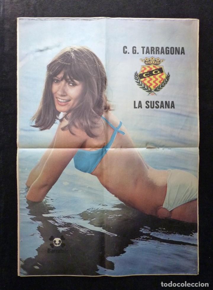 Coleccionismo deportivo: LOTE DE 5 REVISTAS BARRABÁS. LA REVISTA SATÍRICA DEL DEPORTE. AÑO 1973, Nº 26-27-28-29-32 + POSTERS - Foto 6 - 178041664