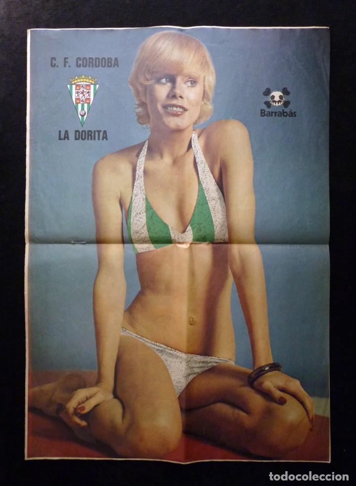 Coleccionismo deportivo: LOTE DE 5 REVISTAS BARRABÁS. LA REVISTA SATÍRICA DEL DEPORTE. AÑO 1973, Nº 26-27-28-29-32 + POSTERS - Foto 7 - 178041664