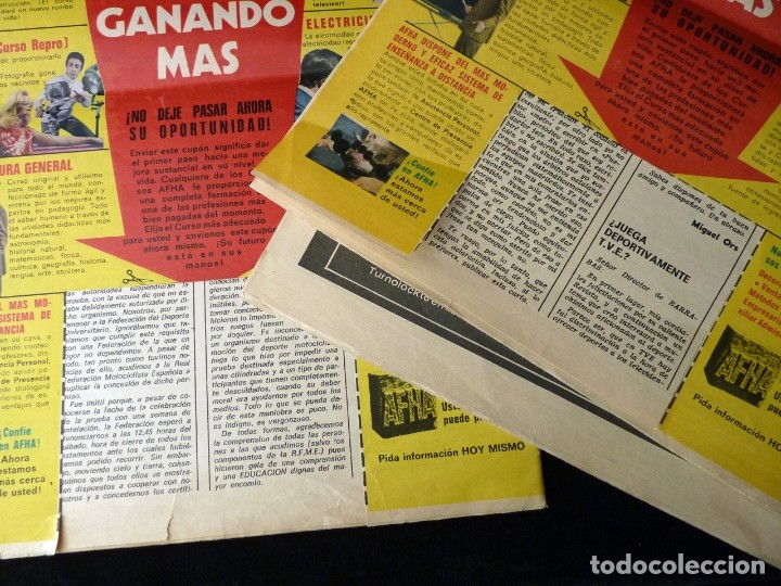 Coleccionismo deportivo: LOTE DE 5 REVISTAS BARRABÁS. LA REVISTA SATÍRICA DEL DEPORTE. AÑO 1973, Nº 26-27-28-29-32 + POSTERS - Foto 13 - 178041664