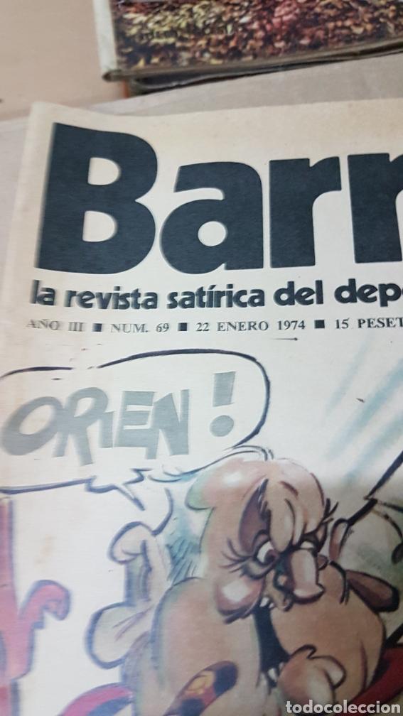 Coleccionismo deportivo: Revista barrabas 22 enero 1974 karate en el Real Madrid - Foto 2 - 180110323