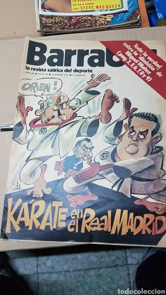 REVISTA BARRABAS 22 ENERO 1974 KARATE EN EL REAL MADRID (Coleccionismo Deportivo - Revistas y Periódicos - Barrabás)