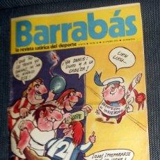 Coleccionismo deportivo: DIARIO DEPORTIVO FÚTBOL BARRABÁS Nº16 ENERO 1973 FÚTBOL VINTAGE PÓSTER CD SAN ANDRES CHICAS. Lote 182985323