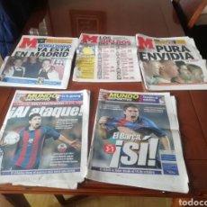 Coleccionismo deportivo: DIARIO MUNDO DEPORTIVO 2002. 50 PERIÓDICOS.. Lote 187577660