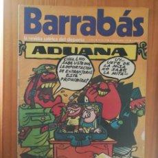Coleccionismo deportivo: BARRABAS 11 XI, 12 DICIEMBRE 1972. LA REVISTA SATIRICA DEL DEPORTE. FUTBOL ADUANA EXTRANJEROS.... Lote 199791222