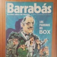Coleccionismo deportivo: BARRABAS 12, 19 DICIEMBRE 1972. LA REVISTA SATIRICA DEL DEPORTE. FUTBOL BARÇA MADRID.... Lote 199791265