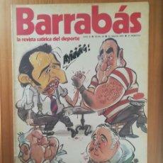 Coleccionismo deportivo: BARRABAS 33, 15 MAYO 1973. LA REVISTA SATIRICA DEL DEPORTE. FUTBOL BARÇA ATLETICO MADRID.... Lote 199791343