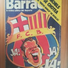 Coleccionismo deportivo: BARRABAS 165, 25 NOVIEMBRE 1975. LA REVISTA SATIRICA DEL DEPORTE. FUTBOL MICHELS BARÇA.... Lote 199791686