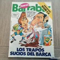 Coleccionismo deportivo: REVISTA-CÓMIC BARRABÁS, 9-11-1976 Nº 214, FC BARCELONA, CRUYFF, POSTER ELCHE. Lote 203935977