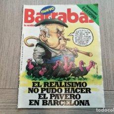 Coleccionismo deportivo: REVISTA-CÓMIC BARRABÁS, 23-11-1976 Nº 216, REAL MADRID, POSTER ESPANYOL.. Lote 203936193