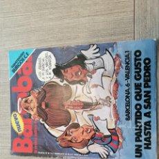 Coleccionismo deportivo: REVISTA-CÓMIC BARRABÁS, 30-11-1976 Nº 217, FC BARCELONA, VALENCIA, POSTER BURGOS FUTBOL. Lote 203936418