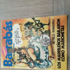 Collectionnisme sportif: REVISTA-CÓMIC BARRABÁS, 7-12-1976 Nº 218, BETIS, ZARAGOZA.. Lote 203936636