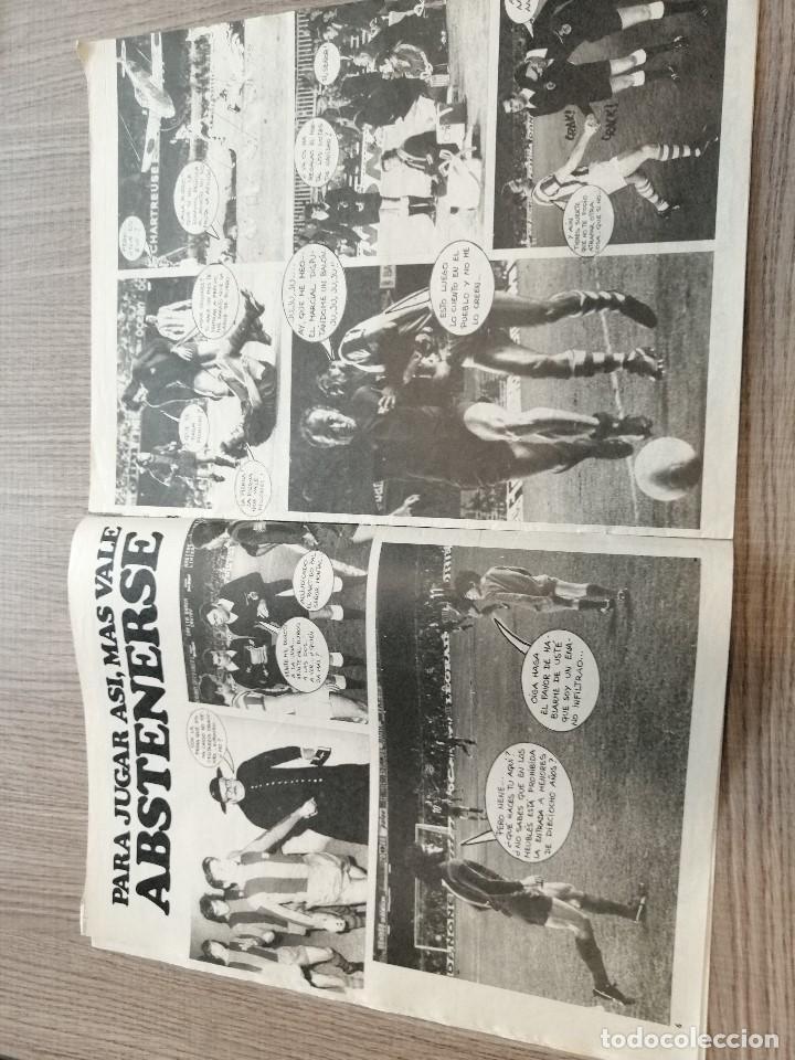 Coleccionismo deportivo: Revista-Cómic Barrabás, 14-12-1976 Nº 219, FC Barcelona, poster UD Salamanca. - Foto 2 - 203936878