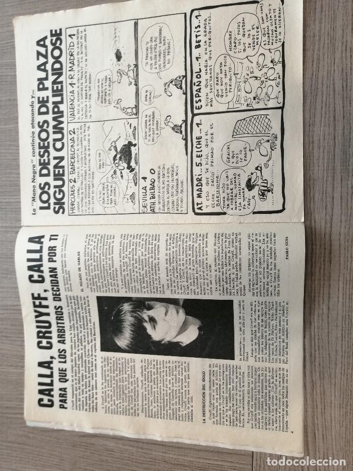 Coleccionismo deportivo: Revista-Cómic Barrabás, 8-03-1977 Nº 231, FC Barcelona, Cruyff, Poster FC Barcelona Baloncesto - Foto 2 - 203938390