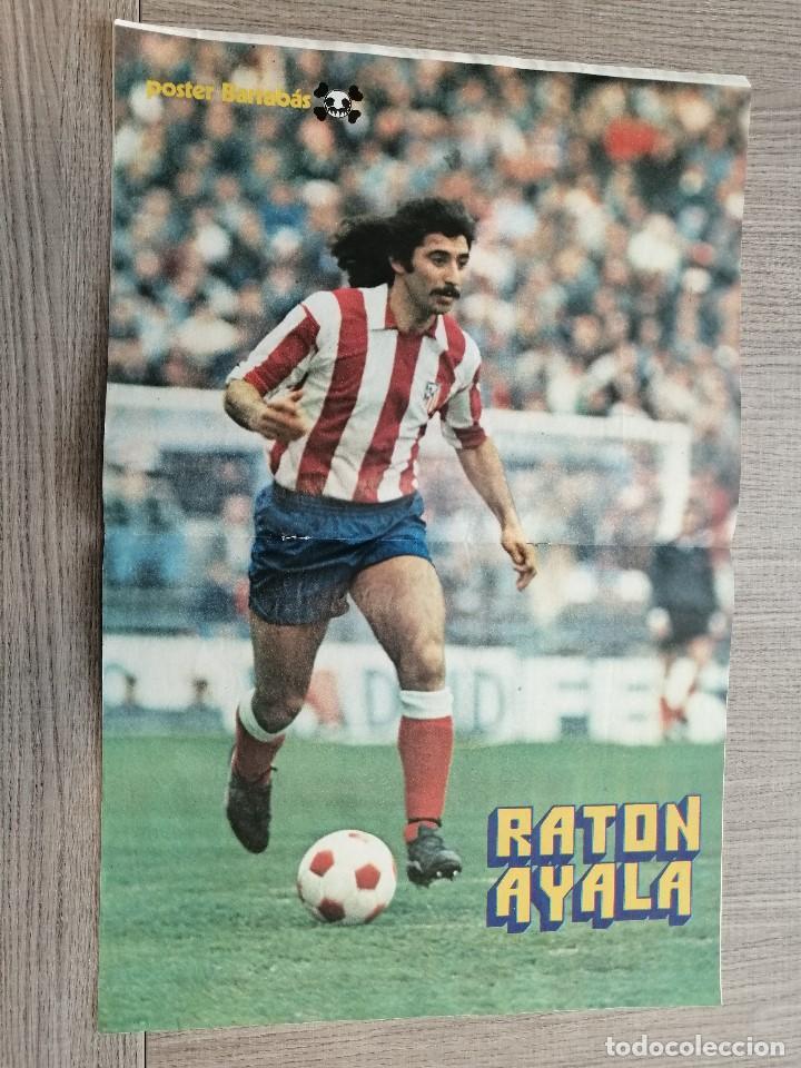 Coleccionismo deportivo: Revista-Cómic Barrabás, 233, Espanyol, poster Raton Ayala Atletico madrid, ciclismo Setmana Catalana - Foto 2 - 203938898