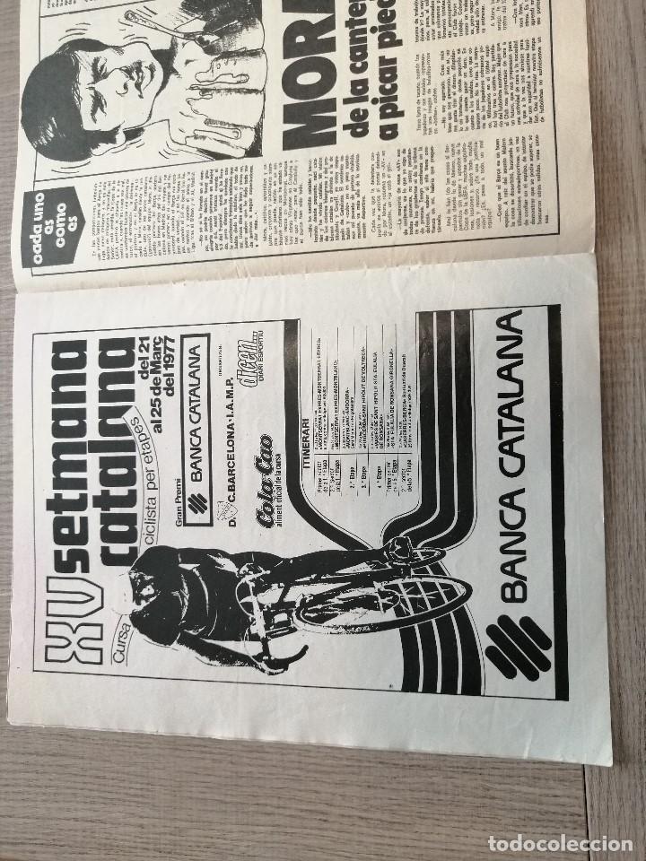 Coleccionismo deportivo: Revista-Cómic Barrabás, 233, Espanyol, poster Raton Ayala Atletico madrid, ciclismo Setmana Catalana - Foto 3 - 203938898