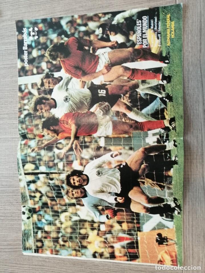 Coleccionismo deportivo: Revista-Cómic Barrabás, 29-03-1977 Nº 234, Real madrid, Franco, Seleccion, Kubala, Alemania, Holanda - Foto 2 - 203939200