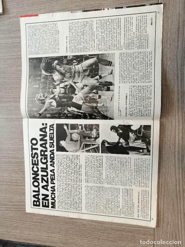Coleccionismo deportivo: Revista-Cómic Barrabás, 29-03-1977 Nº 234, Real madrid, Franco, Seleccion, Kubala, Alemania, Holanda - Foto 3 - 203939200