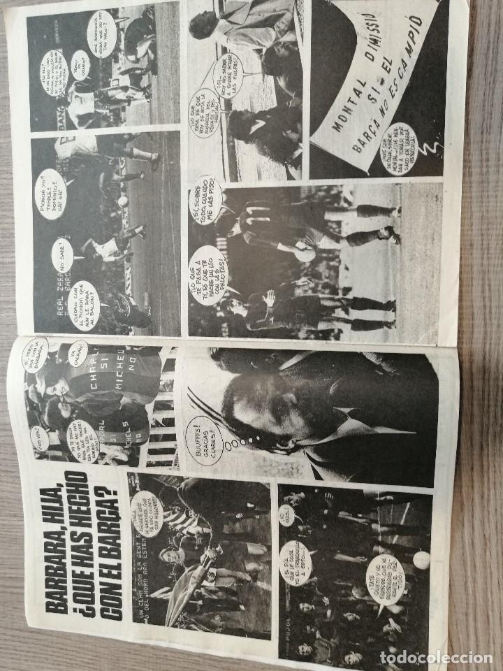 Coleccionismo deportivo: Revista-Cómic Barrabás, 15-02-1977 Nº 228, FC Barcelona, Tenis poster Orantes. - Foto 2 - 203939357