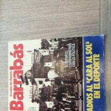 Coleccionismo deportivo: REVISTA-CÓMIC BARRABÁS, 12-04-1977 Nº 236, CARA AL SOL, FRANCO, POSTER BALONCESTO FEMENINO.. Lote 203939566