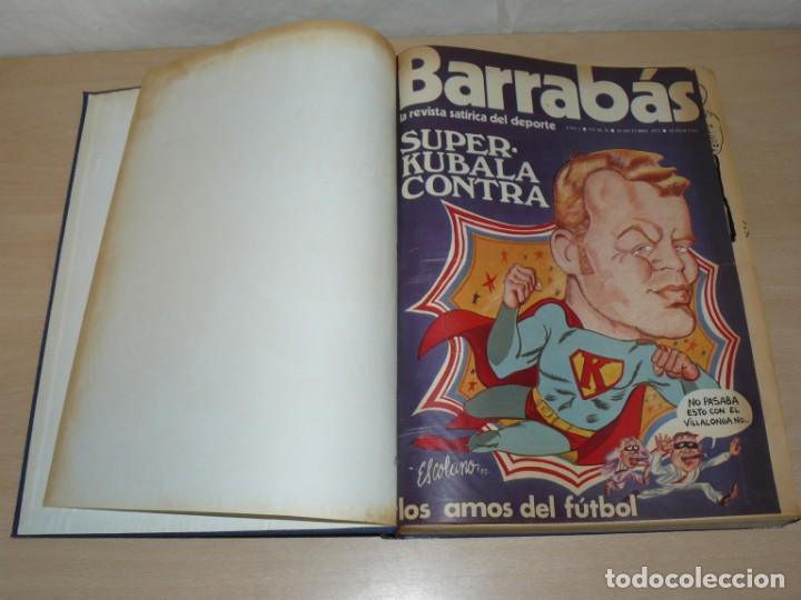 Coleccionismo deportivo: Tomo I BARRABAS La Revista Satírica del Deporte Números 2 al 25 año 1972 Barsa Madrid Atleti Español - Foto 3 - 204093552