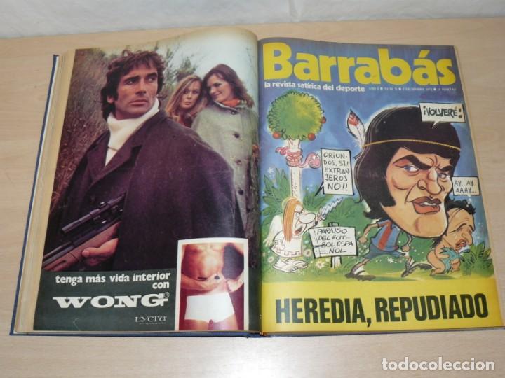 Coleccionismo deportivo: Tomo I BARRABAS La Revista Satírica del Deporte Números 2 al 25 año 1972 Barsa Madrid Atleti Español - Foto 4 - 204093552