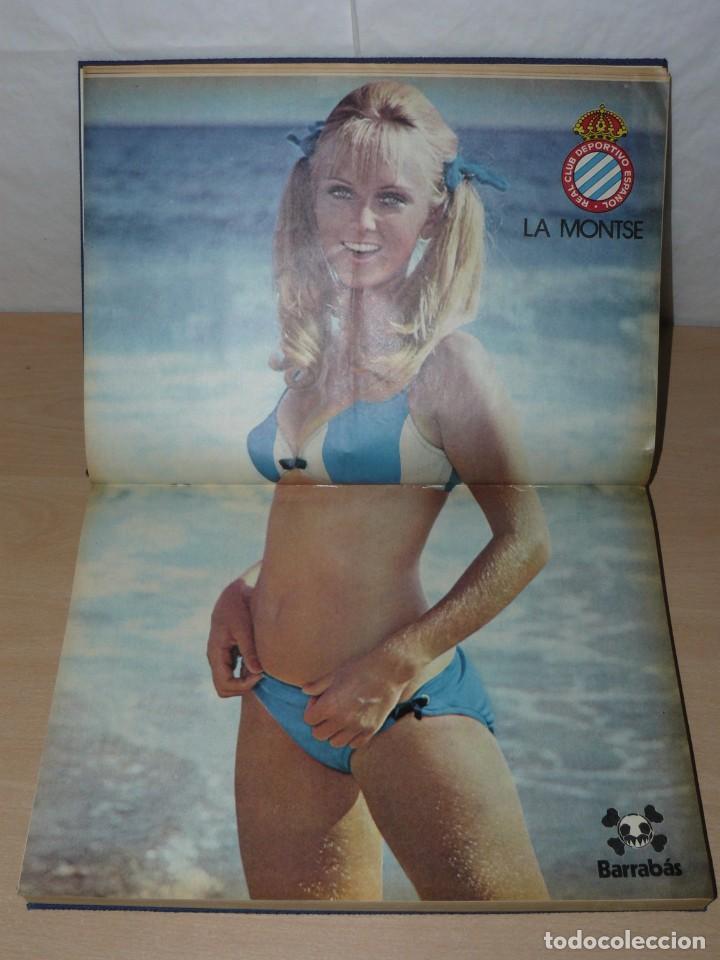 Coleccionismo deportivo: Tomo I BARRABAS La Revista Satírica del Deporte Números 2 al 25 año 1972 Barsa Madrid Atleti Español - Foto 6 - 204093552