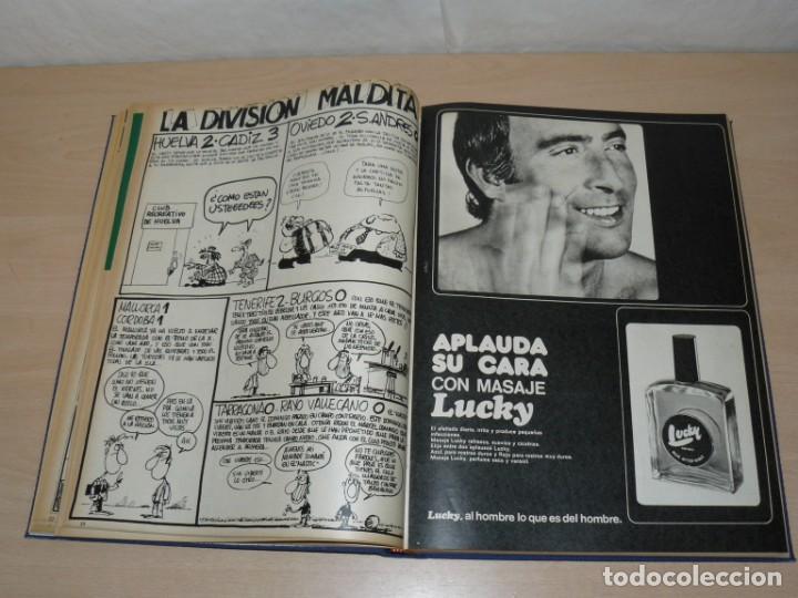 Coleccionismo deportivo: Tomo V BARRABAS Revista Satírica del Deporte Números 96 al 119 año 1974 Barsa Madrid Atleti Español - Foto 4 - 204094007