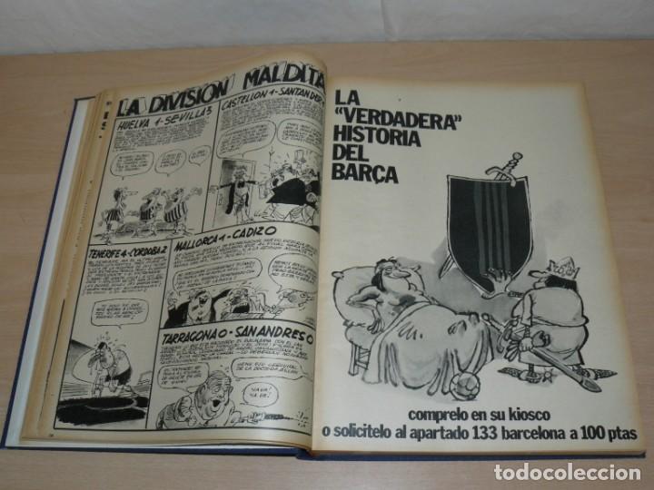 Coleccionismo deportivo: Tomo VI BARRABAS Revista Satírica del Deporte Números 120 a 143 año 1975 Barsa Madrid Atleti Español - Foto 4 - 204095492