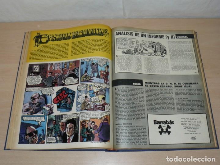 Coleccionismo deportivo: Tomo VI BARRABAS Revista Satírica del Deporte Números 120 a 143 año 1975 Barsa Madrid Atleti Español - Foto 7 - 204095492