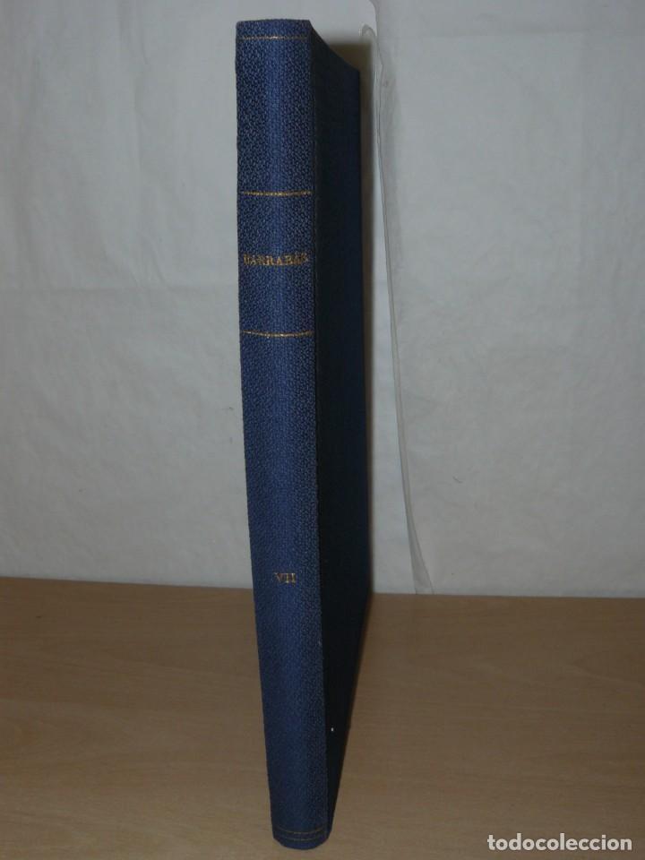TOMO VII BARRABAS REVISTA SATÍRICA DE DEPORTE NÚMEROS 144 A 166 AÑO 1975 BARSA MADRID ATLETI ESPAÑOL (Coleccionismo Deportivo - Revistas y Periódicos - Barrabás)