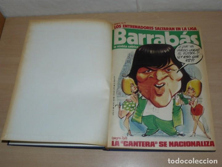 Coleccionismo deportivo: Tomo VII BARRABAS Revista Satírica de Deporte Números 144 a 166 año 1975 Barsa Madrid Atleti Español - Foto 3 - 204095756