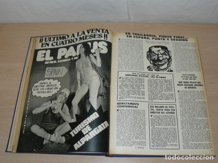 Coleccionismo deportivo: Tomo VII BARRABAS Revista Satírica de Deporte Números 144 a 166 año 1975 Barsa Madrid Atleti Español - Foto 4 - 204095756