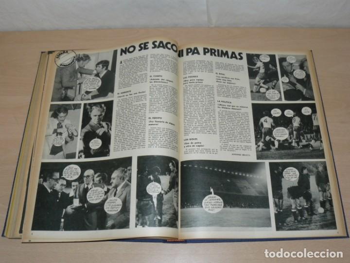 Coleccionismo deportivo: Tomo VII BARRABAS Revista Satírica de Deporte Números 144 a 166 año 1975 Barsa Madrid Atleti Español - Foto 8 - 204095756