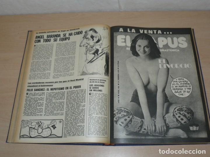 Coleccionismo deportivo: Tomo VIII BARRABAS Revista Satírica de Deporte Número 167 a 189 año 1975 Barsa Madrid Atleti Español - Foto 5 - 204095905