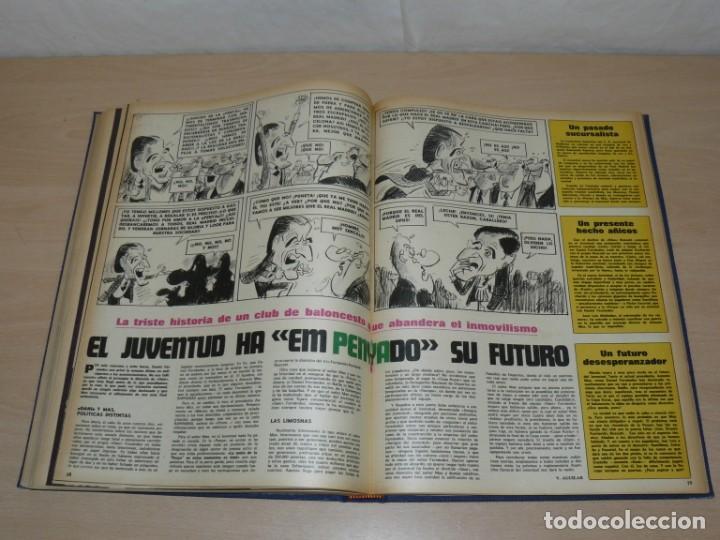Coleccionismo deportivo: Tomo VIII BARRABAS Revista Satírica de Deporte Número 167 a 189 año 1975 Barsa Madrid Atleti Español - Foto 6 - 204095905