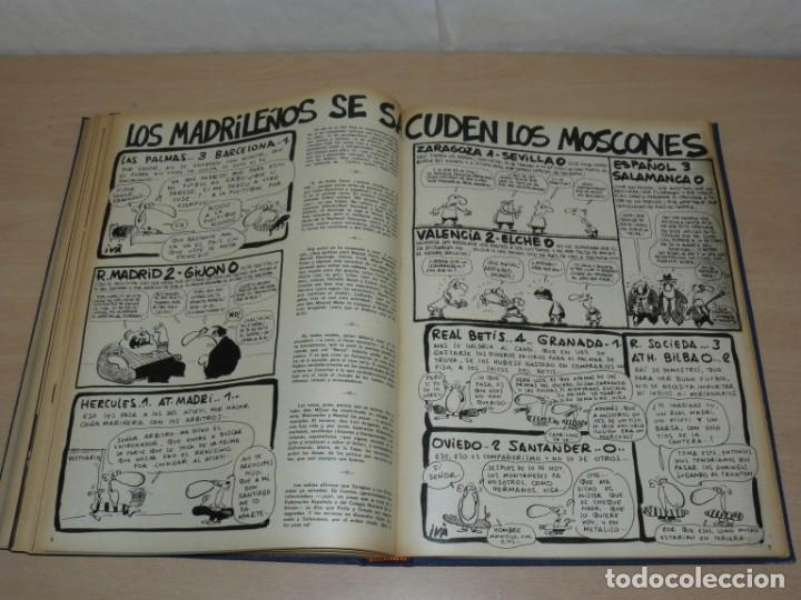 Coleccionismo deportivo: Tomo VIII BARRABAS Revista Satírica de Deporte Número 167 a 189 año 1975 Barsa Madrid Atleti Español - Foto 7 - 204095905