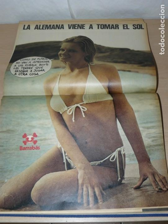 Coleccionismo deportivo: Tomo VIII BARRABAS Revista Satírica de Deporte Número 167 a 189 año 1975 Barsa Madrid Atleti Español - Foto 9 - 204095905