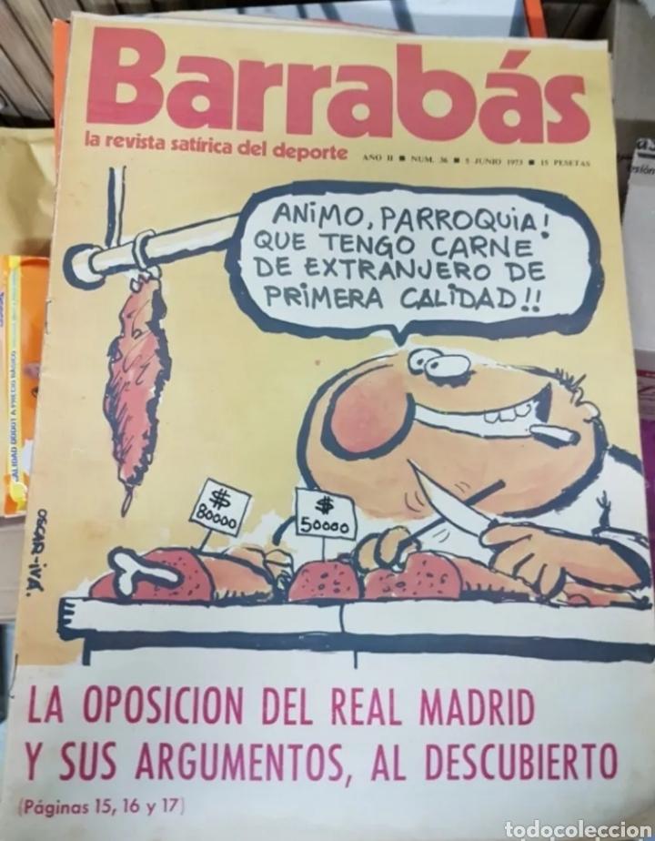 Coleccionismo deportivo: Lote antiguas revistas Barrabas - Foto 2 - 205753898