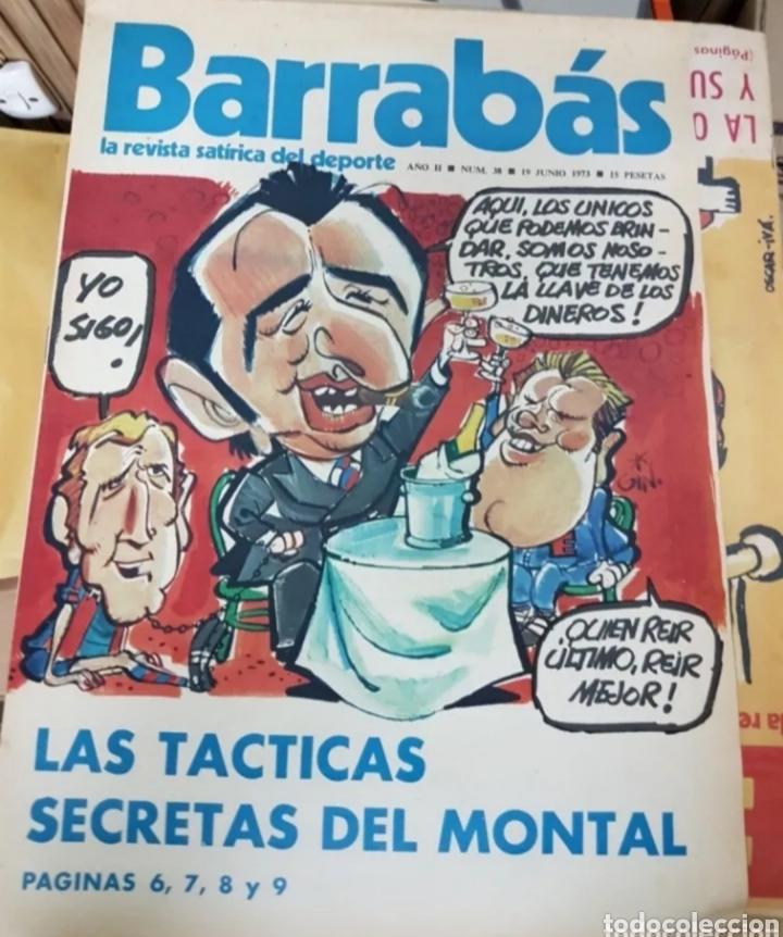 Coleccionismo deportivo: Lote antiguas revistas Barrabas - Foto 3 - 205753898
