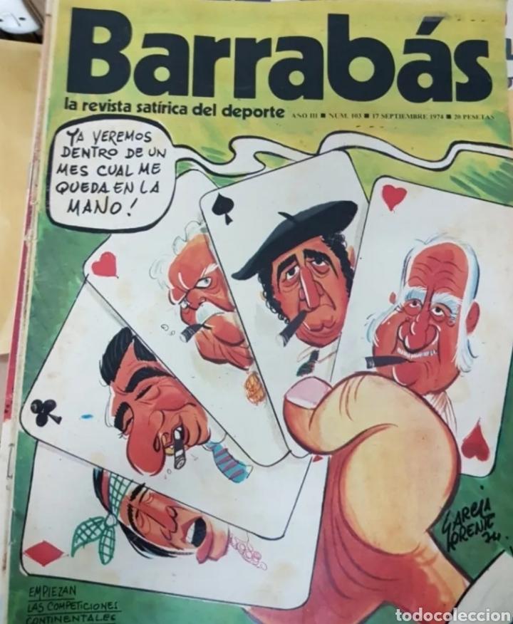 Coleccionismo deportivo: Lote antiguas revistas Barrabas - Foto 4 - 205753898
