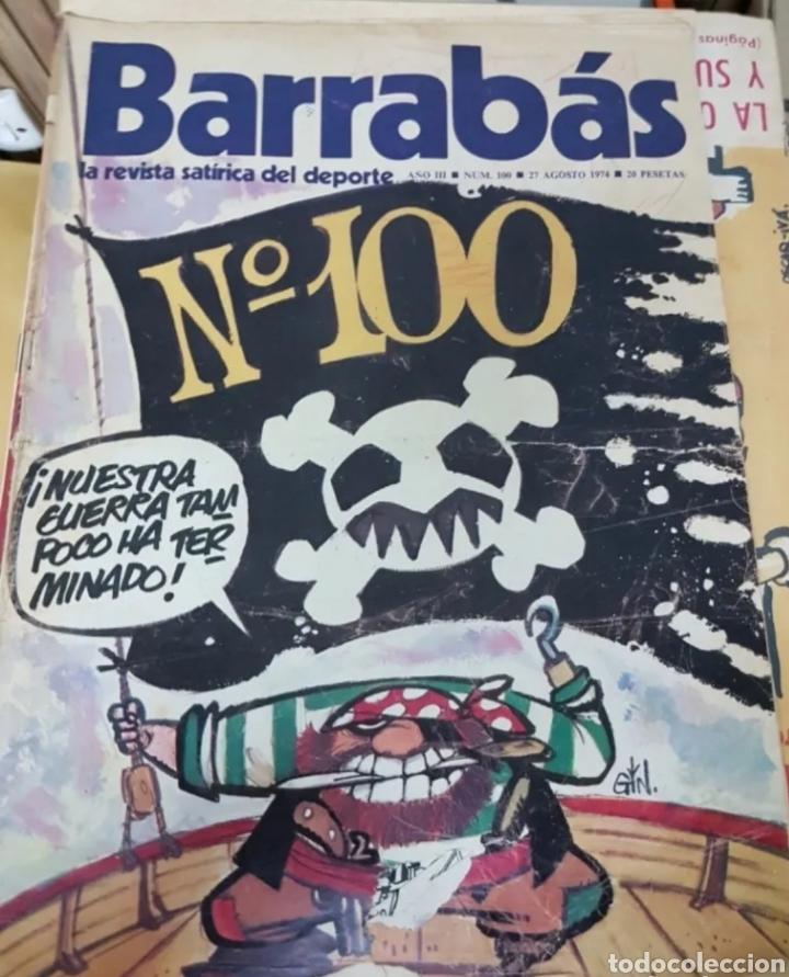 LOTE ANTIGUAS REVISTAS BARRABAS (Coleccionismo Deportivo - Revistas y Periódicos - Barrabás)