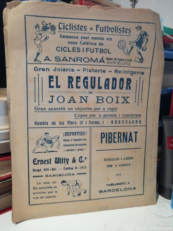 Coleccionismo deportivo: Revista Semanal 1920 Catalunya Esportiva - Foto 4 - 208084337