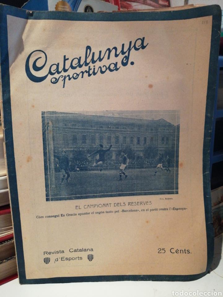 REVISTA SEMANAL 1920 CATALUNYA ESPORTIVA (Coleccionismo Deportivo - Revistas y Periódicos - Catalunya Sportiva)