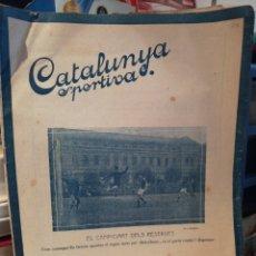 Coleccionismo deportivo: REVISTA SEMANAL 1920 CATALUNYA ESPORTIVA. Lote 208084337