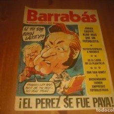 Coleccionismo deportivo: BARRABAS, LA REVISTA SATIRICA DEL DEPORTE AÑO IV,N.140. JUNIO 1975.. Lote 211761843