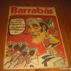 Coleccionismo deportivo: BARRABAS, LA REVISTA SATIRICA DEL DEPORTE AÑO II , N. 43 .JULIO 1973 .. Lote 211765123
