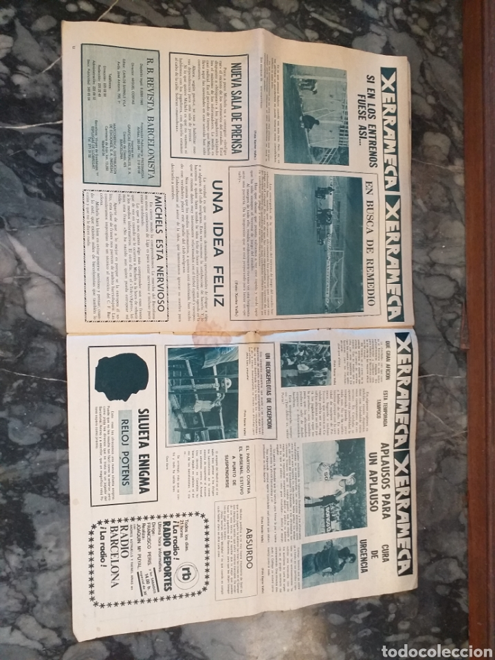 Coleccionismo deportivo: R.B. Revista Barcelonista número 446. 1973 - Foto 2 - 228743990