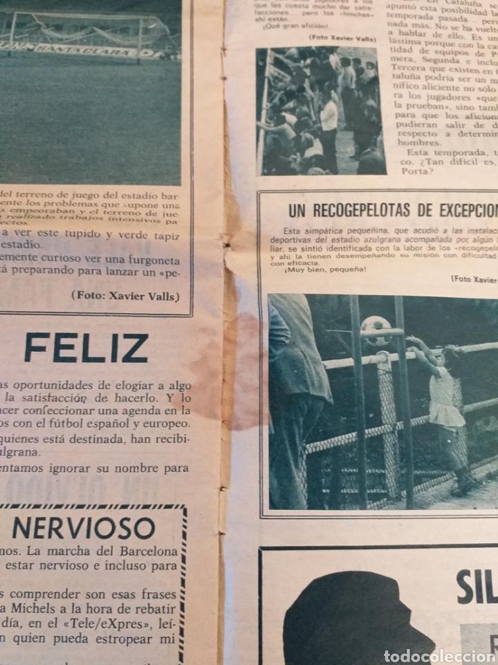 Coleccionismo deportivo: R.B. Revista Barcelonista número 446. 1973 - Foto 3 - 228743990